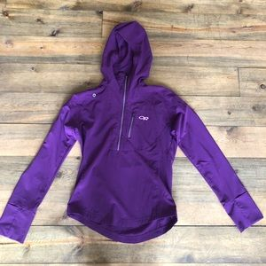 Outdoor Research Tops - Outdoor Research Women's Softshell Hoodie Pullover